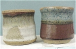 Pottery Toothpick Holder Pair