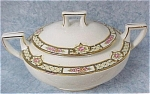 Click here to enlarge image and see more about item pt00512: Homer Laughlin Covered Sugar Bowl