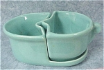 Click here to enlarge image and see more about item pt00525: Camark Pottery Nesting Cream & Sugar Set
