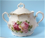 Click to view larger image of Pre WWII German Sugar Bowl With Lid (Image1)