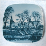 Click to view larger image of Bing & Grondahl Souvenir Scenic Miniature Wall Plaque (Image1)