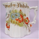 Click to view larger image of Bavarian 1920s Small Porcelain Pitcher (Image1)