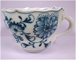 Click to view larger image of Meissen Blue Onion Cup (Image1)