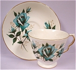 Click here to enlarge image and see more about item pt00574: Ridgway Royal Vale Teacup and Saucer