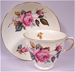 Click here to enlarge image and see more about item pt00577: Ridgway Royal Vale Teacup and Saucer