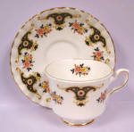 Click here to enlarge image and see more about item pt00587: Royal Stafford Balmoral Cup and Saucer
