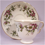 Click to view larger image of Ridgway Queen Anne Teacup and Saucer (Image1)