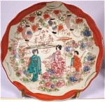 Click here to enlarge image and see more about item pt00595: 1930s-1950s Small Oriental Japan Plate