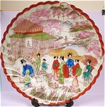 Click here to enlarge image and see more about item pt00599: 1930s-1950s Oriental Japan Plate
