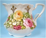 Click here to enlarge image and see more about item pt00611: 1920s German Porcelain Creamer