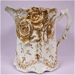 Click to view larger image of c1900 German Porcelain Creamer (Image1)