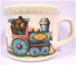 Click here to enlarge image and see more about item pt00627: Lenox China Bears Child's Mug