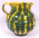 Click here to enlarge image and see more about item pt00629: Drip Glaze Miniature Pitcher