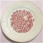 1942 Homer Laughlin Harvest Plate