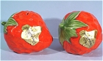 Click here to enlarge image and see more about item pt00720: Metlox Poppytrail Strawberry Salt and Pepper