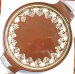 Click to view larger image of Hungary Slip Decorated Earthenware Platter (Image1)