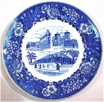 Click here to enlarge image and see more about item pt00752: St Augustine Florida Souvenir Plate