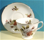 Click here to enlarge image and see more about item pt00761: Ridgway Queen Anne Cup and Saucer