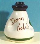 Click to view larger image of Pottery Devon Violets Bottle (Image1)