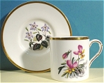 Click to view larger image of Small Royal Worcester Cup and Saucer (Image1)