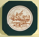 Click here to enlarge image and see more about item pt00808: Syracuse Washington Crossing the Delaware Wall Hanger
