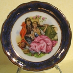 Click here to enlarge image and see more about item pt00845: Miniature Courting Image Plate, Guillen Spain