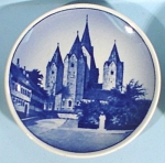 Click to view larger image of Copenhagen Miniature Plate, Kalundborg Kirke (Image1)