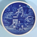 Click to view larger image of Copenhagen Miniature Plate, HC Anderson Kongens House (Image1)