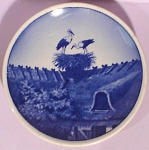 Click to view larger image of Copenhagen Miniature Plate (Image1)