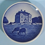 Click to view larger image of Copenhagen Miniature Plate, Eremitage Slottet (Image1)