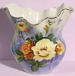 Click to view larger image of Handpainted Old Pour Vase (Image1)