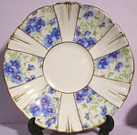 Royal Albert Blue Flower Chintz Saucer