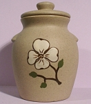 Click to view larger image of Pigeon Forge Pottery Small Covered Jar (Image1)