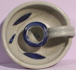 Williamsburg Pottery Stoneware Candle Holder