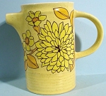 Click here to enlarge image and see more about item pt00970: Arklow Ireland Small Yellow Pitcher