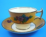 Click here to enlarge image and see more about item pt01002: Booths England Cup and Saucer