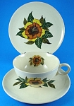 Click to view larger image of Universal Pottery Trio - Cup Saucer Plate (Image1)