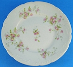 Click here to enlarge image and see more about item pt01030: Theodore Haviland Limoges Floral Small Plate