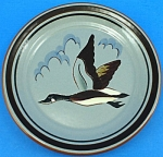 Click here to enlarge image and see more about item pt01052: Stangl Pottery Sportsmens Canadian Goose Plate