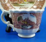 Click to view larger image of Vernon Kilns Miniature Mount Vernon Cup and Saucer (Image2)
