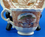 Click to view larger image of Vernon Kilns Monterey Cypress Cup and Saucer (Image2)