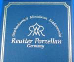 Click to view larger image of Ruetter Porcelain Miniature Tea Set (Image2)