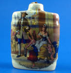 Click here to enlarge image and see more about item pt01108: Miniature Torquay Aidee Liqueurs Decanter Flask