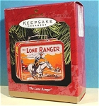 Click here to enlarge image and see more about item s00141: Hallmark Ornament 1997 Lone Ranger