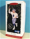 Click here to enlarge image and see more about item s00142: Hallmark Ornament 1996 Troy Aikman