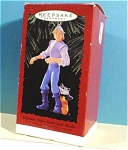 Click here to enlarge image and see more about item s00150: Hallmark Ornament Captain John Smith and Mecko
