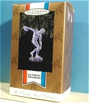 Click here to enlarge image and see more about item s00151: Hallmark Ornament Olympic Triumph, 1996