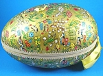 Click here to enlarge image and see more about item s00211m: Large West Germany Paper Mache Easter Egg