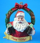 1989 Willitts Designs Coca Cola Santa Ornament