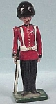 Click here to enlarge image and see more about item t00068: Metal Miniature English Soldier
